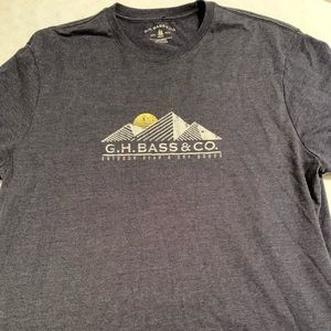 GH BASS AND CO TEE
